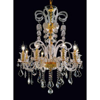 Elegant Lighting Elizabeth 8 Light Dining Chandelier in Gold with Royal Cut Clear Crystal 7830D29G/RC alternative photo thumbnail