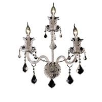 Elegant Lighting Elizabeth 3 Light Wall Sconce in Chrome with Spectra Swarovski Clear Crystal 7830W3C/SA alternative photo thumbnail