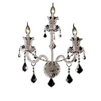 Elegant Lighting Elizabeth 3 Light Wall Sconce in Chrome with Royal Cut Clear Crystal 7830W3C/RC photo thumbnail