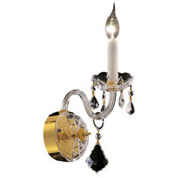 Elegant Lighting Alexandria 1 Light Wall Sconce in Gold with Royal Cut Clear Crystal 7831W1G/RC