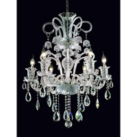 Elegant Lighting Elizabeth 6 Light Dining Chandelier in Chrome with Royal Cut Clear Crystal 7832D26C/RC alternative photo thumbnail