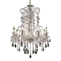 Elegant Lighting Elizabeth 8 Light Dining Chandelier in Chrome with Swarovski Strass Clear Crystal 7832D29C/SS alternative photo thumbnail