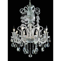 Elegant Lighting Elizabeth 8 Light Dining Chandelier in Chrome with Royal Cut Clear Crystal 7832D29C/RC alternative photo thumbnail
