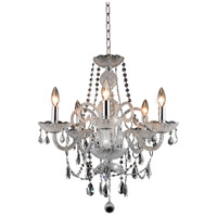Elegant Lighting 7835D20C/RC Princeton 5 Light 20 inch Chrome Dining Chandelier Ceiling Light in (None) alternative photo thumbnail