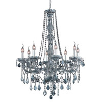 Elegant Lighting Verona 8 Light Dining Chandelier in Silver Shade with Swarovski Strass Silver Shade Crystal 7858D28SS-SS/SS alternative photo thumbnail