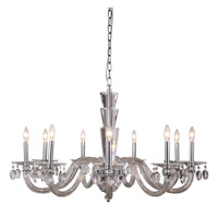 Augusta 9 Light 39 inch Chrome Pendant Ceiling Light