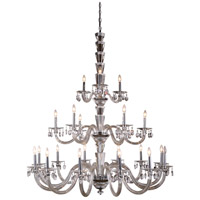 Elegant Lighting 7870G52C/RC Augusta 21 Light 52 inch Chrome Pendant Ceiling Light