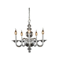 Elegant Lighting 7872D20C Champlain 5 Light 20 inch Chrome Pendant Ceiling Light