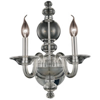 Champlain 2 Light 10 inch Silver Shade Wall Sconce Wall Light