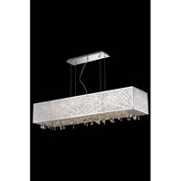 Elegant Lighting Mirage 8 Light Dining Chandelier in Chrome with Royal Cut Clear Crystal 7901D48C/RC