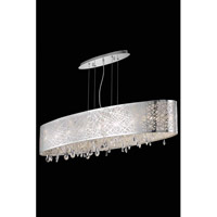 Elegant Lighting Mirage 7 Light Dining Chandelier in Chrome with Royal Cut Clear Crystal 7902D40C/RC