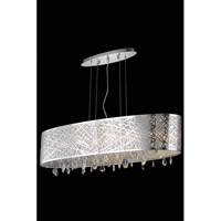 Elegant Lighting Mirage 8 Light Dining Chandelier in Chrome with Royal Cut Clear Crystal 7902D49C/RC