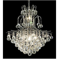 Elegant Lighting Toureg 11 Light Dining Chandelier in Chrome with Elegant Cut Clear Crystal 8002D22C/EC