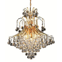 Elegant Lighting V8003D25G/SS Toureg 15 Light 25 inch Gold Dining Chandelier Ceiling Light in Swarovski Strass alternative photo thumbnail