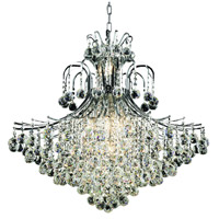 Elegant Lighting Toureg 15 Light Foyer in Chrome with Swarovski Strass Clear Crystal 8005G31C/SS
