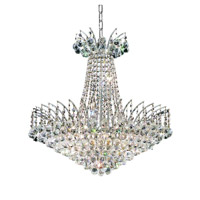 Elegant Lighting Victoria 11 Light Dining Chandelier in Chrome with Spectra Swarovski Clear Crystal 8031D24C/SA alternative photo thumbnail