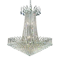 Elegant Lighting 8031D29C/SA Victoria 16 Light 29 inch Chrome Dining Chandelier Ceiling Light in Spectra Swarovski alternative photo thumbnail