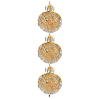 Spiral 30 Light 22 inch Gold Foyer Ceiling Light in Swarovski Strass