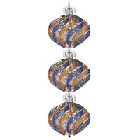 Elegant Lighting Spiral 45 Light Foyer in Chrome with Swarovski Strass Crystal 8053G26C/SS
