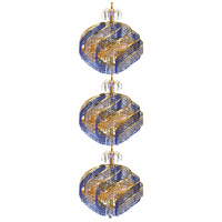 Spiral 45 Light 26 inch Gold Foyer Ceiling Light in Royal Cut