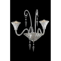 Symphony 2 Light 24 inch Clear Wall Lamp Wall Light in Swarovski Elements