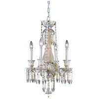 Elegant Lighting 8904D17GT-GT/EC Majestic 4 Light 17 inch Golden Teak Pendant Ceiling Light