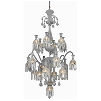 Elegant Lighting Majestic 13 Light Foyer in Chrome with Elegant Cut Clear Crystal 8913G39C/EC