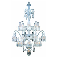 Elegant Lighting Majestic 19 Light Foyer in Chrome with Elegant Cut Clear Crystal 8913G46C/EC