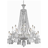 Majestic 16 Light 42 inch Chrome Foyer Ceiling Light in Clear, (None)