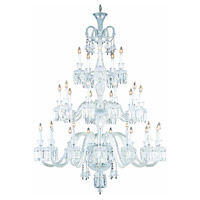 Majestic 30 Light 54 inch Chrome Foyer Ceiling Light in Clear