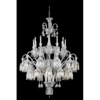 Majestic 36 Light 48 inch Chrome Foyer Ceiling Light in Clear