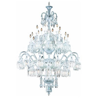 Elegant Lighting Majestic 42 Light Foyer in Chrome with Elegant Cut Clear Crystal 8942G54C/EC