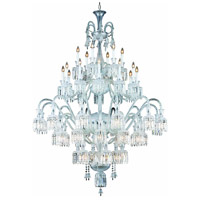Majestic 48 Light 60 inch Chrome Foyer Ceiling Light in Clear