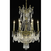 Elegant Lighting 9309D22AB/RC Esperanza 9 Light 22 inch Antique Bronze Dining Chandelier Ceiling Light in Royal Cut alternative photo thumbnail