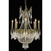 Elegant Lighting 9312D26AB/RC Esperanza 12 Light 26 inch Antique Bronze Dining Chandelier Ceiling Light in Royal Cut alternative photo thumbnail