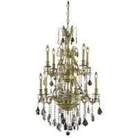 Elegant Lighting Monarch 12 Light Dining Chandelier in French Gold with Spectra Swarovski Clear Crystal 9612D27FG/SA alternative photo thumbnail