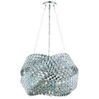 Elegant Lighting 9803D20C/EC Electron 5 Light 20 inch Chrome Dining Chandelier Ceiling Light