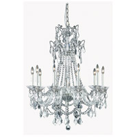 Imperia 10 Light 30 inch Pewter Chandelier Ceiling Light