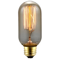 Elitco Lighting by Elegant Lighting Nostalgic 40 Watt 120V E26 Bulb 2100K, Dimmable, 140 Lumens, 100 CRI, E26-NOS40-T14-TH