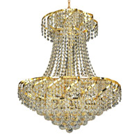 Elegant Lighting Belenus 11 Light Dining Chandelier in Gold with Spectra Swarovski Clear Crystal ECA1D22G/SA alternative photo thumbnail