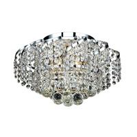 Elegant Lighting Belenus 6 Light Flush Mount in Chrome with Royal Cut Clear Crystal ECA1F16C/RC alternative photo thumbnail