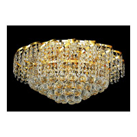 Elegant Lighting ECA1F20G/RC Belenus 8 Light 20 inch Gold Flush Mount Ceiling Light in Royal Cut alternative photo thumbnail