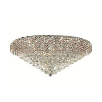 Elegant Lighting ECA1F30C/SS Belenus 12 Light 30 inch Chrome Flush Mount Ceiling Light in Swarovski Strass alternative photo thumbnail