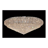 Elegant Lighting ECA1F48C/SA Belenus 36 Light 48 inch Chrome Flush Mount Ceiling Light in Spectra Swarovski alternative photo thumbnail