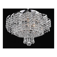 Elegant Lighting Belenus 6 Light Flush Mount in Chrome with Royal Cut Clear Crystal ECA2F16C/RC alternative photo thumbnail