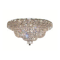 Elegant Lighting Belenus 12 Light Flush Mount in Chrome with Royal Cut Clear Crystal ECA2F30C/RC alternative photo thumbnail