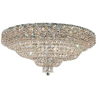 Elegant Lighting Belenus 28 Light Flush Mount in Chrome with Elegant Cut Clear Crystal ECA2F36C/EC