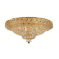 Elegant Lighting ECA2F36G/SA Belenus 20 Light 36 inch Gold Flush Mount Ceiling Light in Spectra Swarovski alternative photo thumbnail