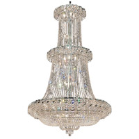 Elegant Lighting Belenus 32 Light Foyer in Chrome with Elegant Cut Clear Crystal ECA2G42C/EC