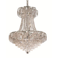 Elegant Lighting Belenus 11 Light Dining Chandelier in Chrome with Royal Cut Clear Crystal ECA4D22C/RC alternative photo thumbnail